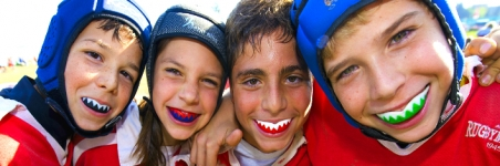 Wear Mouth Guards during Sports